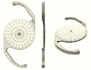 Ryc. 1a. Model soczewki Clareon
