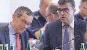 Poseł Krzysztof Ostrowski i Paweł Kruś